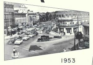 photo of Medford, MA in 1953