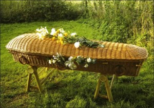Natural casket